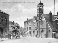 High Street, Wimbledon Village: Fire Station