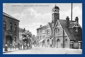 High Street, Wimbledon Village: Fire Station