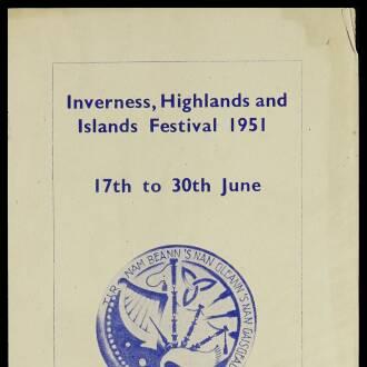 Empire Theatre, Inverness, June 1951