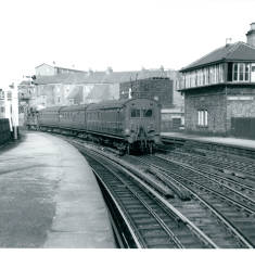 Class G5 with South Shields Push Pull service to Sunderland