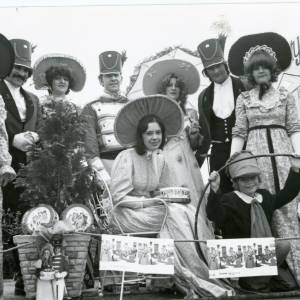 1978 Man of Ross Quality Street carnival float, 10th August 1978