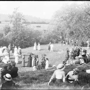 Herefordshire volunteers fete, Vineyard Croft, 1915