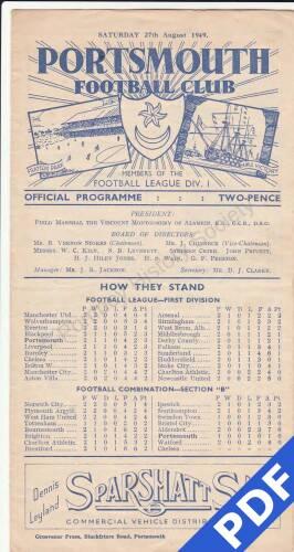 19490827 Blackpool Home