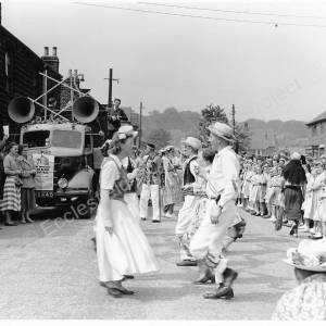 Grenoside Sword and Folk Dance Festival 1950's