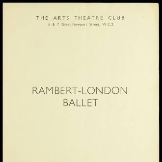 Arts Theatre Club, London, January 1941