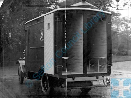 New Bootle Police Van