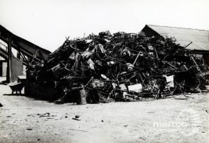Salvage Depot, Garth Road: Salvaged Metal