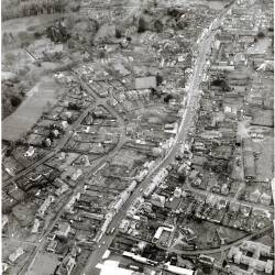 Aerial views of Ledbury