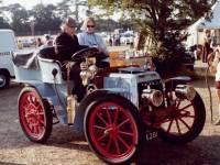 Vintage Car pictured at the Merton Show, Morden Park