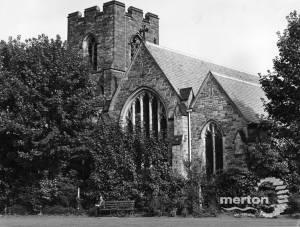 St John the Divine, High Path, Merton