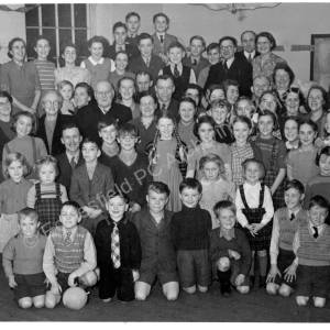 Grenoside Primitive Methodist Chapel Whitsuntide Party c1950.