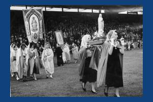 Catholic Pageant at Mitcham Stadium