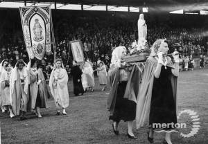 Catholic Pageant at Mitcham Stadium
