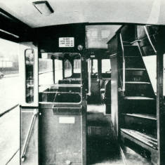 Inside of South Shields Corp.Tram