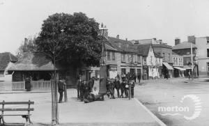 London Road, Mitcham: Collbran's Corner