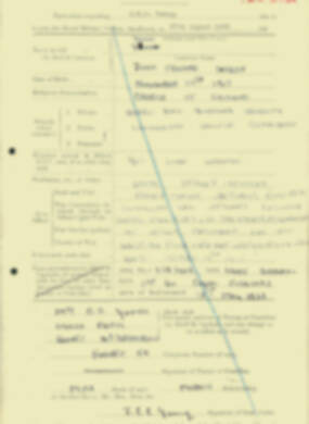 RMC Form 18A Personal Detail Sheets Aug 1935 Intake - page 227