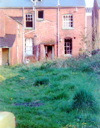 Houses on Commercial Road, Hereford c1990