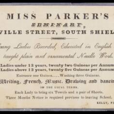 Miss Parker's Seminary