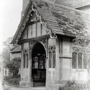 Berrington church porch