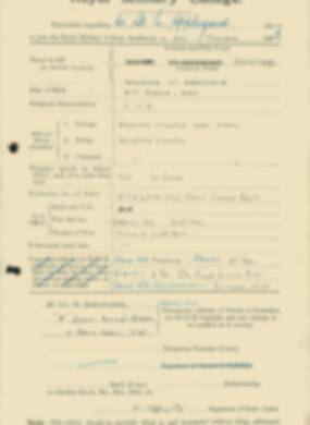 RMC Form 18A Personal Detail Sheets Feb & Sept 1933 Intake - page 5