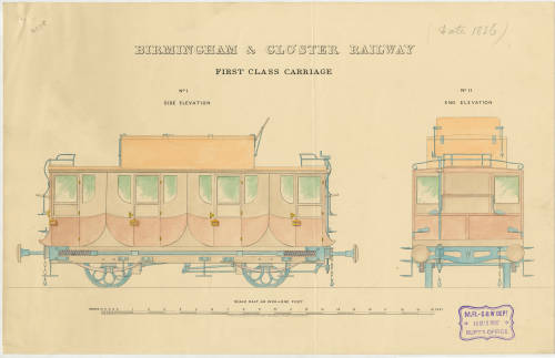 Carriage drawing