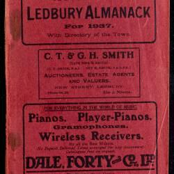 Tilley's Ledbury Almanack 1937