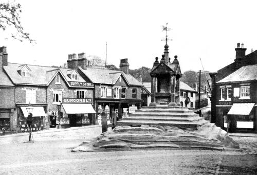 Lymm Cross after its restoration