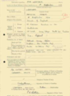RMC Form 18A Personal Detail Sheets Feb & Sept 1933 Intake - page 234