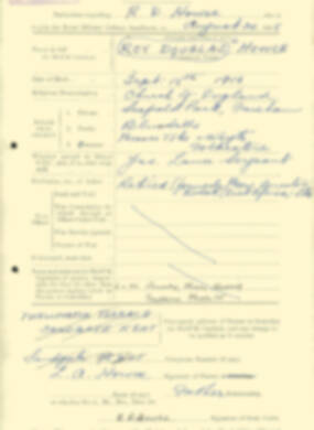 RMC Form 18A Personal Detail Sheets Aug 1935 Intake - page 110