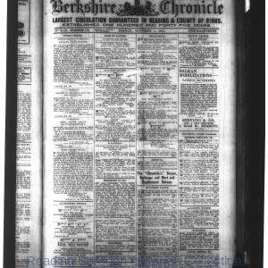 Berkshire Chronicle Reading 10-1915