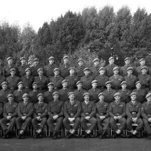 Group photo of SAS Regiment D Squadron.