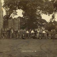 Litherland Cycling Club outing to Sefton Village, 1900s