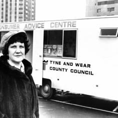 County Councillor Mrs Jenny Shearer