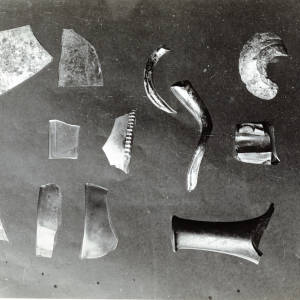 St Weonards, English Glass fragments