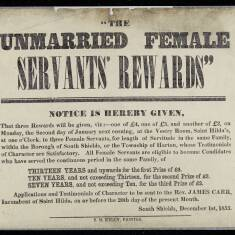Unmarried Female Servant's Rewards