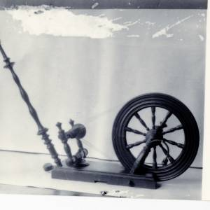 Spinning Wheel for flax