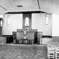 Wilson's Lane Methodist Church interior, Litherland, 1937