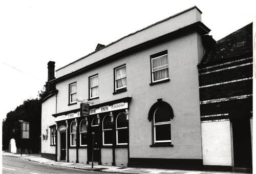 Red Cow Inn, c1980, Exeter