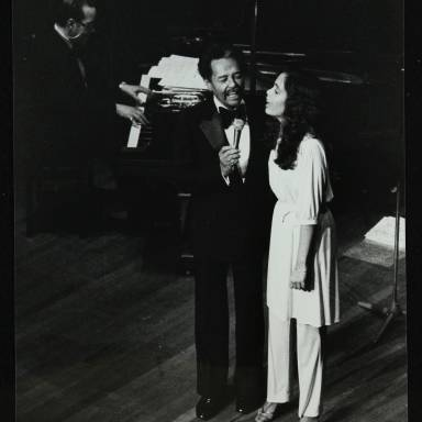 Billy Eckstine and daughter Gina
