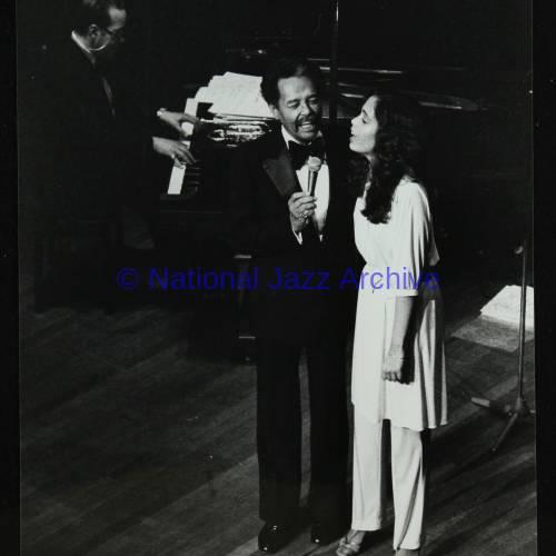 Billy Eckstine and daughter Gina