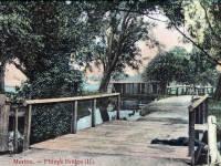 The River Wandle at Phipps Bridge, Mitcham