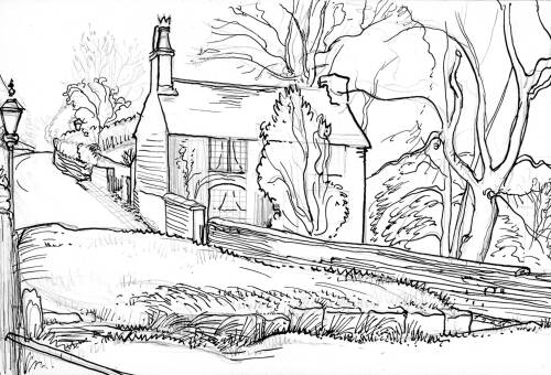Dane Cottage by Dorothea Rowlinson