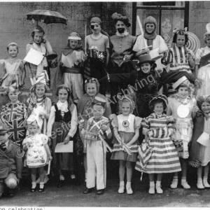 Coronation Celebration at Charlton Brook 1953