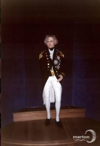 Model of Admiral Nelson.