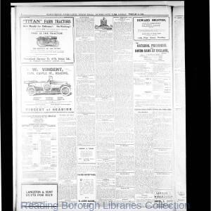 Reading Mercury Oxford Gazette 02-1919
