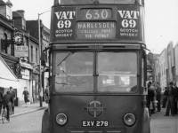 Trolleybus at West Croydon