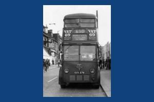 Trolleybus at West Croydon