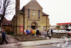 SS Peter and Paul Roman Catholic Church, Cranmer Road, Mitcham