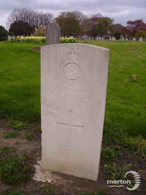 Gravestone of George C B Millar