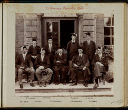 Photograph Album - 1911-1916_0036 Literary Society 1915.jpg